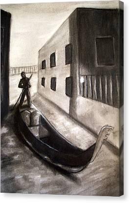 The Gondola Canvas Print by C Nick