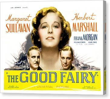 The Good Fairy, Frank Morgan, Margaret Canvas Print