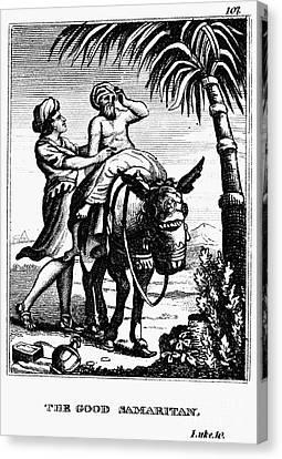 The Good Samaritan Canvas Print by Granger