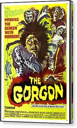 The Gorgon, Prudence Hyman Canvas Print by Everett