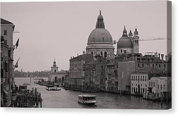 The Grand Canal Venice Canvas Print by Luis and Paula Lopez