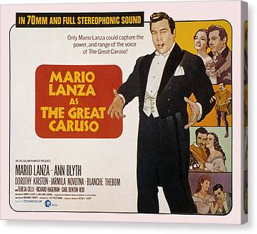 The Great Caruso, Mario Lanza, Ann Canvas Print by Everett