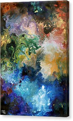 The Great Diversity Canvas Print by Sally Trace