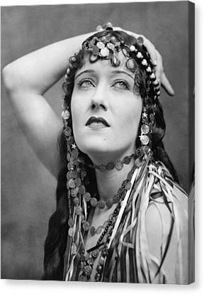 The Great Moment, Gloria Swanson, 1921 Canvas Print by Everett