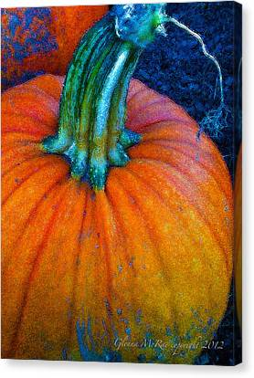 The Great Pumpkin Canvas Print by Glenna McRae