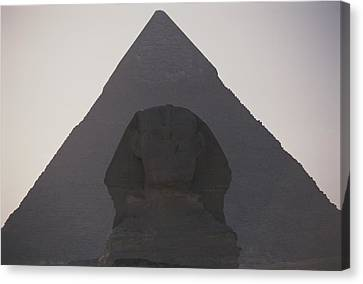 The Great Sphinx Is Framed Canvas Print by Stephen St. John