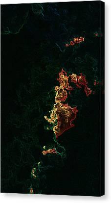 The Green Matter Canvas Print
