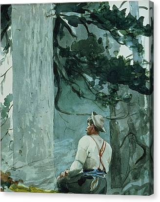 The Guide Canvas Print by Winslow Homer