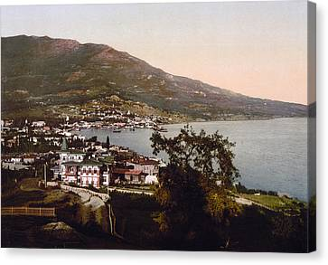 The Gulf Jalta -ie Yalta - The Crimea - Russia -ie- Ukraine Canvas Print by International  Images