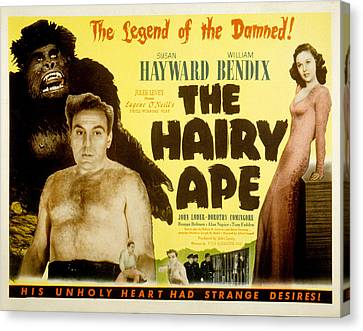 Hayward Canvas Print - The Hairy Ape, William Bendix, Susan by Everett