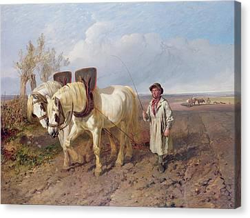 The Harrowing Team Canvas Print