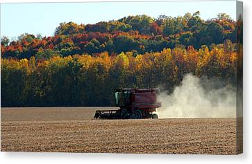 The Harvest Canvas Print by James Hammen