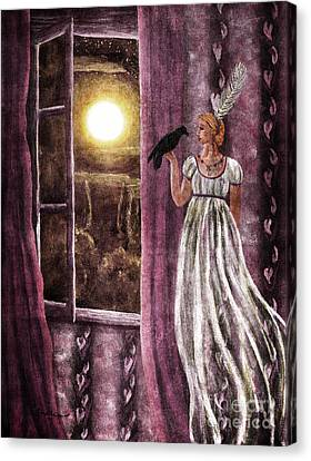 The Haunted Parlor Canvas Print by Laura Iverson