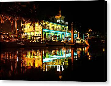 Canvas Print featuring the photograph The Haven by Jalai Lama
