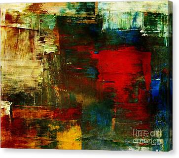 Painted Details Canvas Print - The Healing Process Inspired This by Fania Simon