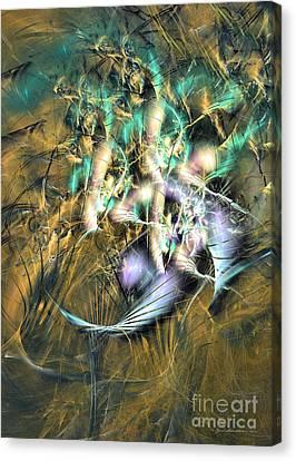 The Hidden Beauty - Fractal Art Canvas Print