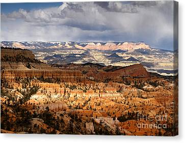 The High Desert Bryce Canyon Canvas Print by Butch Lombardi