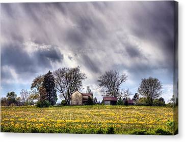 The Homestead Canvas Print by JC Findley