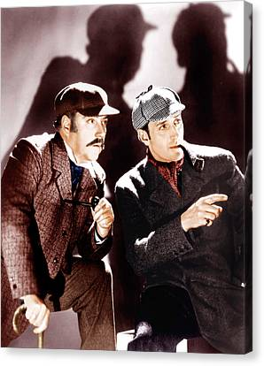 The Hound Of The Baskervilles Canvas Print by Everett