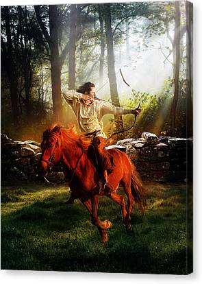 The Hunter Canvas Print by Mary Hood