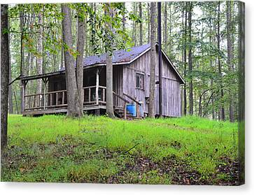 The Huntin Lodge Canvas Print