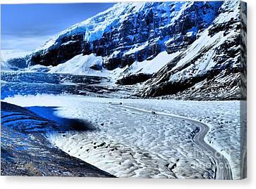 The Ice Fields Canvas Print by Tara Turner
