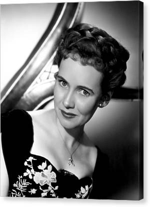 The Imperfect Lady, Teresa Wright, 1947 Canvas Print by Everett
