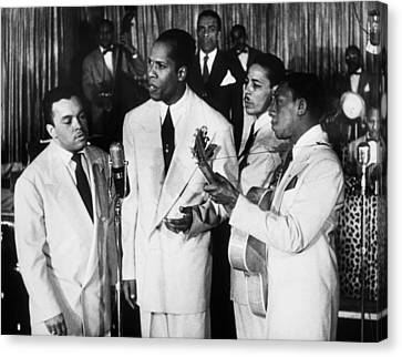The Ink Spots, C1945 Canvas Print by Granger