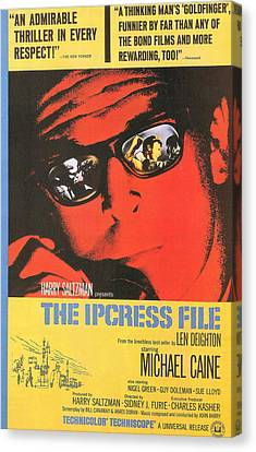 The Ipcress File Canvas Print by Georgia Fowler
