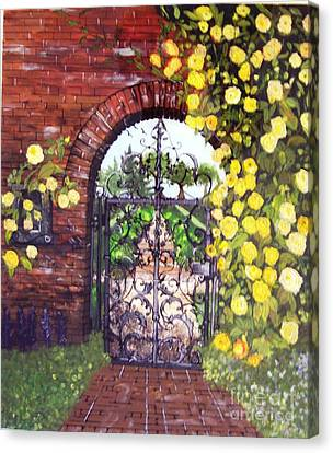The Iron Gate Canvas Print