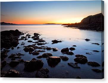 The Island Canvas Print by Robert Clifford
