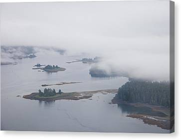 The Islands Of The Inside Passage Canvas Print by Taylor S. Kennedy