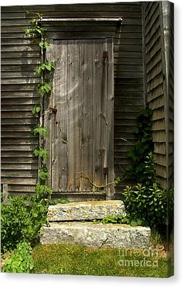 The Ivied Door Canvas Print by Theresa Willingham
