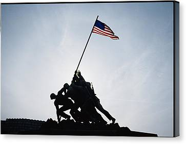 The Iwo Jima Memorial Canvas Print