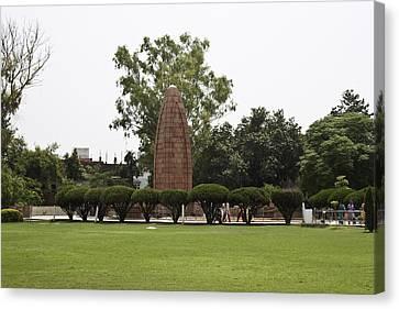 The Jallianwala Bagh Memorial In Amritsar Canvas Print by Ashish Agarwal