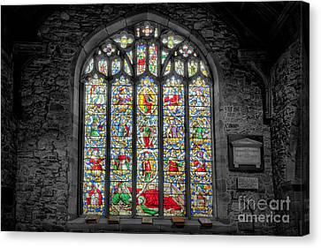 The Jesse Window  Canvas Print by Adrian Evans