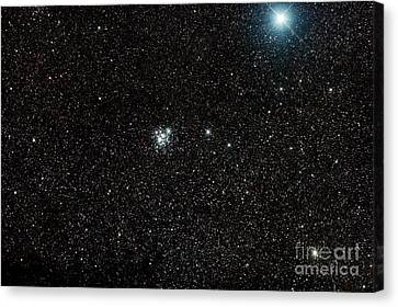 The Jewel Box, Open Cluster Ngc 4755 Canvas Print by Philip Hart