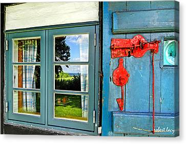 The Journalist's House Canvas Print by Robert Lacy