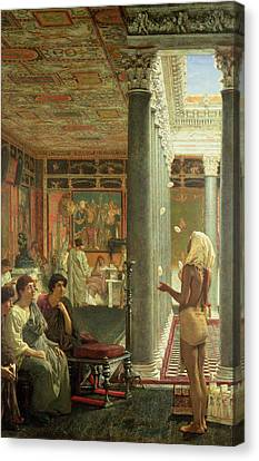 The Juggler Canvas Print by Sir Lawrence Alma-Tadema