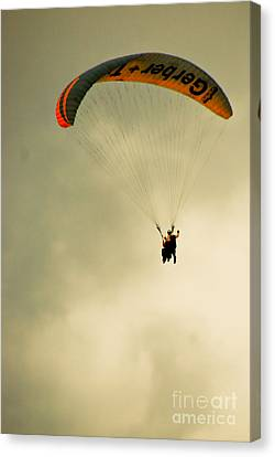 The Jumper Canvas Print by Syed Aqueel