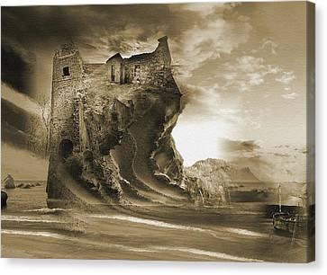 The Keep Canvas Print by Yanni Theodorou