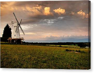 The Kentish Smock Mill Canvas Print by Jeremy Sage