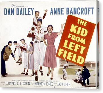 The Kid From Left Field, Dan Dailey Canvas Print by Everett