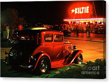 The Kiltie Canvas Print