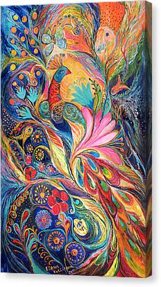 The King Bird. The Original Can Be Purchased Directly From Www.elenakotliarker.com Canvas Print by Elena Kotliarker