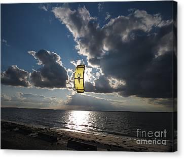 The Kite Canvas Print by Rrrose Pix