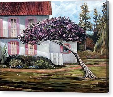 The Kite Tree Canvas Print
