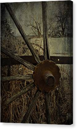 The Land That Turns  Canvas Print by Jerry Cordeiro