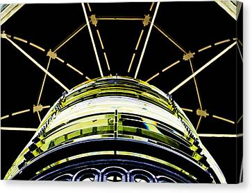 The Lantern Room Canvas Print by MaryJane Armstrong