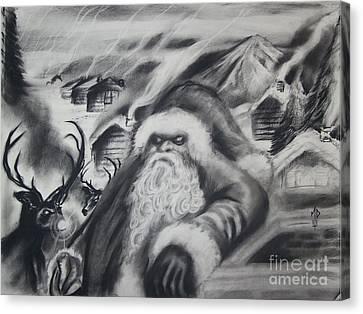 The Last X-mas Canvas Print by Matt Detmer